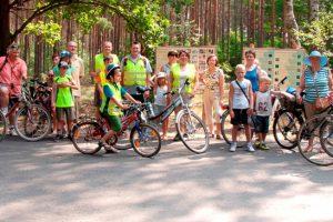 Rowerami w Kaweczynie