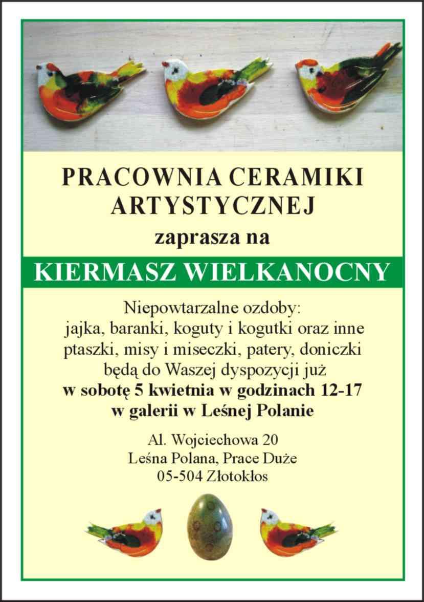 Wielkanoc-A6 -Leśna Polana