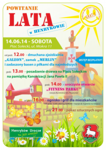 Plakat HENRYKOW ZM