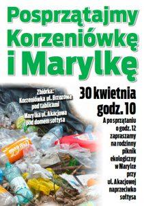 Sprzatanie 2016 - plakat
